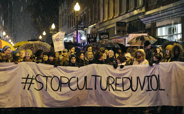 Manifestation contre la «culture du viol»