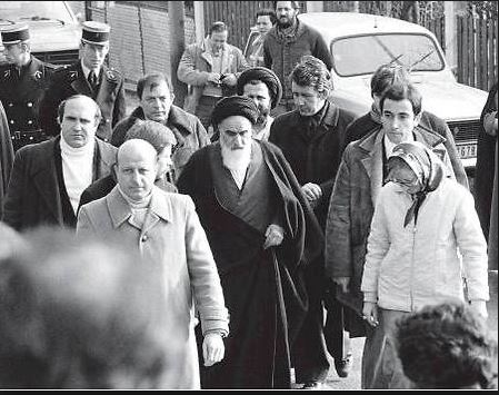 Khomeini à Paris