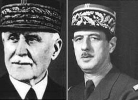 Pétain/de Gaulle
