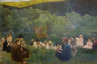 Károly Ferenczy, Le sermon sur la montagne